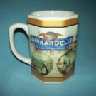 GHIRARDELLI CHOCOLATE Mug SODA FOUNTAIN Chocolate Shop HOUSTON HARVEST