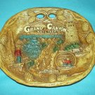 Vintage GRAND CANYON NATL. PARK Plaque Tray TACO Bark Design