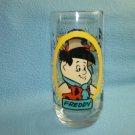 THE FLINTSTONES Freddy Fred GLASS 1986 PIZZA HUT PROMO