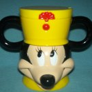 MICKEY MOUSE Bandleader FLIP TOP Cup Mug DISNEY ON ICE Yellow Hat