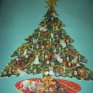 SUNSOUT JIGSAW PUZZLE~Mary Ann Lasher~CHRISTMAS ANGELS~Colorful Tree~1000 PCS~SHAPED~COMPLETE