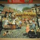 SUSAN BRABEAU Jigsaw Puzzle~THE CAROUSEL~1000 PCS~Master Pieces NOSTALGIA SCENE