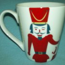 STARBUCKS COFFEE 2012 Christmas Red Nutcracker Soldier MUG Grande Collectible