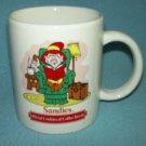 Advertising KEEBLER ELF Sandies Cookies MUG Ernie the Elf Reading