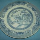 BLUE WILLOW Dinner Plate MADE IN CHINA TransferWare Blue/White Heavy