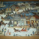 CEACO JIGSAW PUZZLE ~LINDA NELSON STOCKS~Seaport Holiday~COMPLETE
