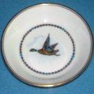 ROYAL WORCESTER Duck Fowl Bird TRINKET DISH Coaster MADE IN ENGLAND Bone China