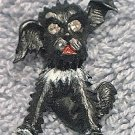 GERRY'S SCOTTIE SCOTTY DOG JEWELRY PIN BROOCH ~BLACK~CUTE