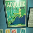 ACQUIRE 1968 Vintage Bookshelf BOARD GAME 3M Company HIGH FINANCE Money