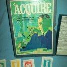ACQUIRE 1968 Vintage Bookshelf BOARD GAME 3M Company HIGH FINANCE Money