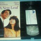 A NEW LEAF~VHS~WALTER MATTHAU, ELAINE MAY, JAMES COCO~1970 HTF COMEDY GEM!