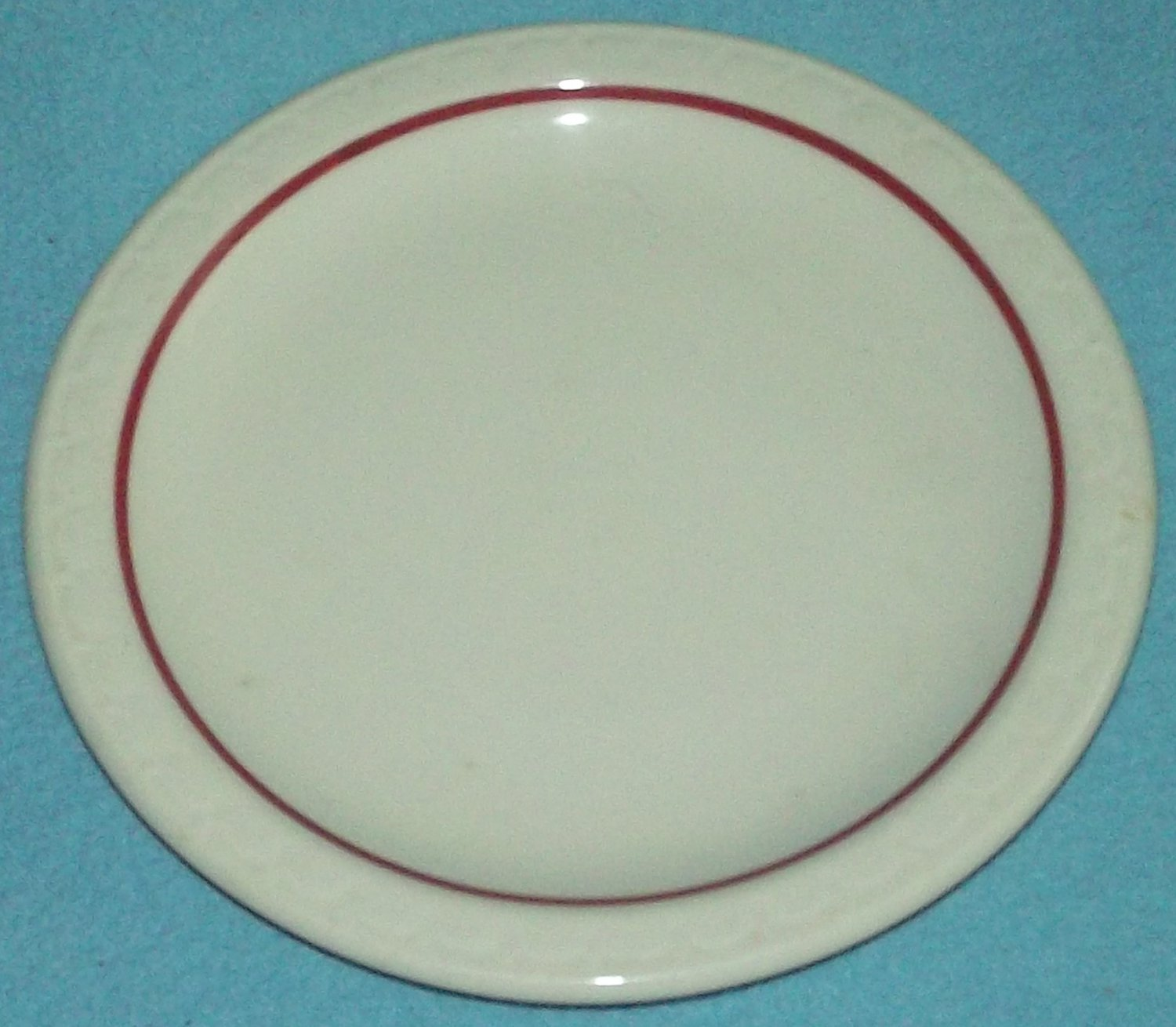 Vintage SYRACUSE CHINA Cardinal Lines BREAD BUTTER Plate RESTAURANT WARE