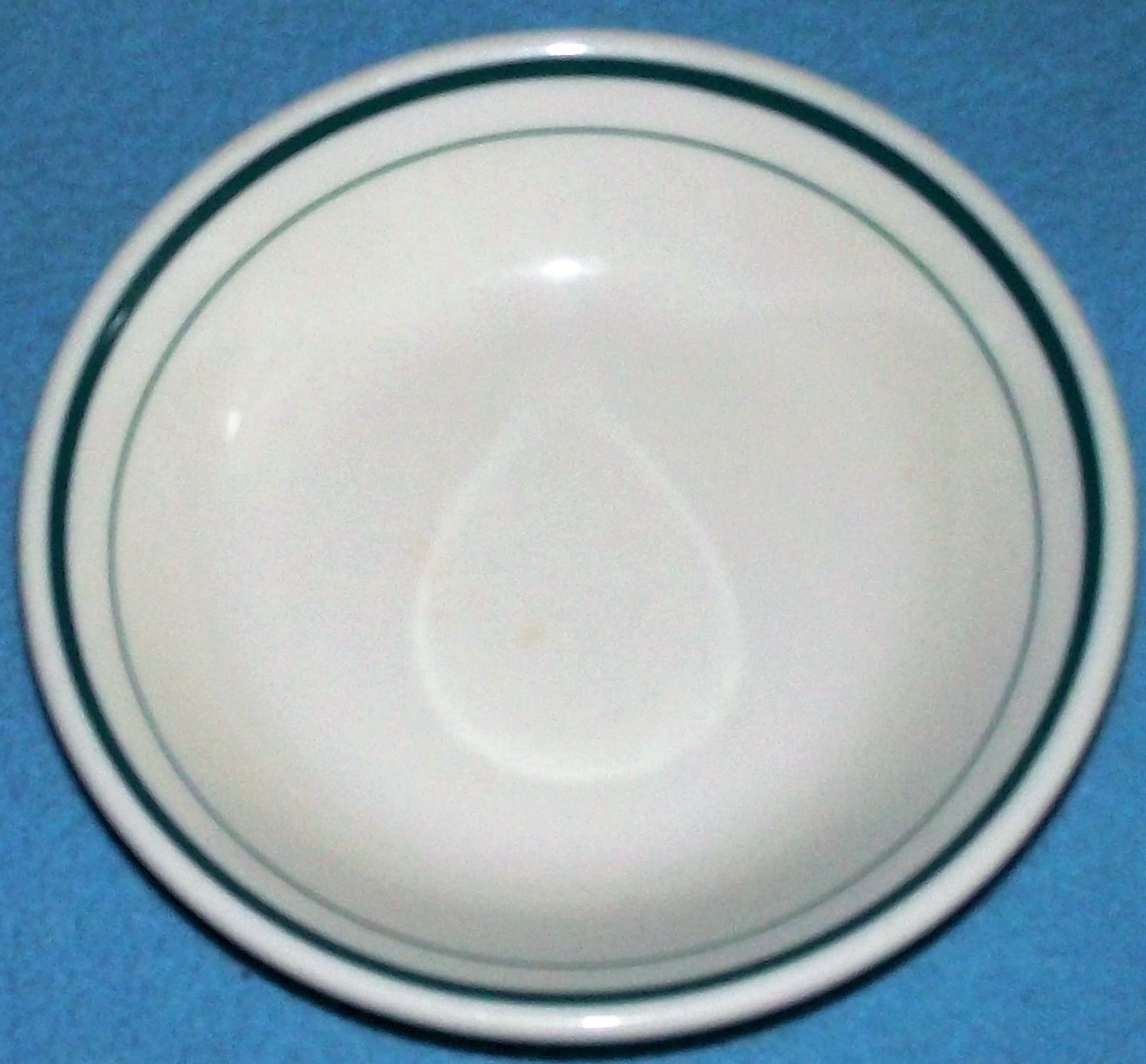Vintage SYRACUSE CHINA Fruit Berry Sauce BOWL Restaurant Ware GREEN BANDS
