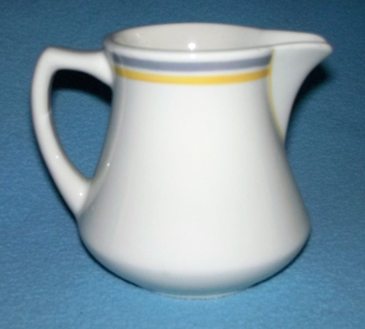 Vintage MAYER CHINA TRUE IVORY Large Creamer RESTAURANT WARE 1930's/40's