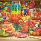 COBBLE HILL Jigsaw Puzzle CANDY JARS 1000 PC Jelly Beans Gumdrops Lollipops