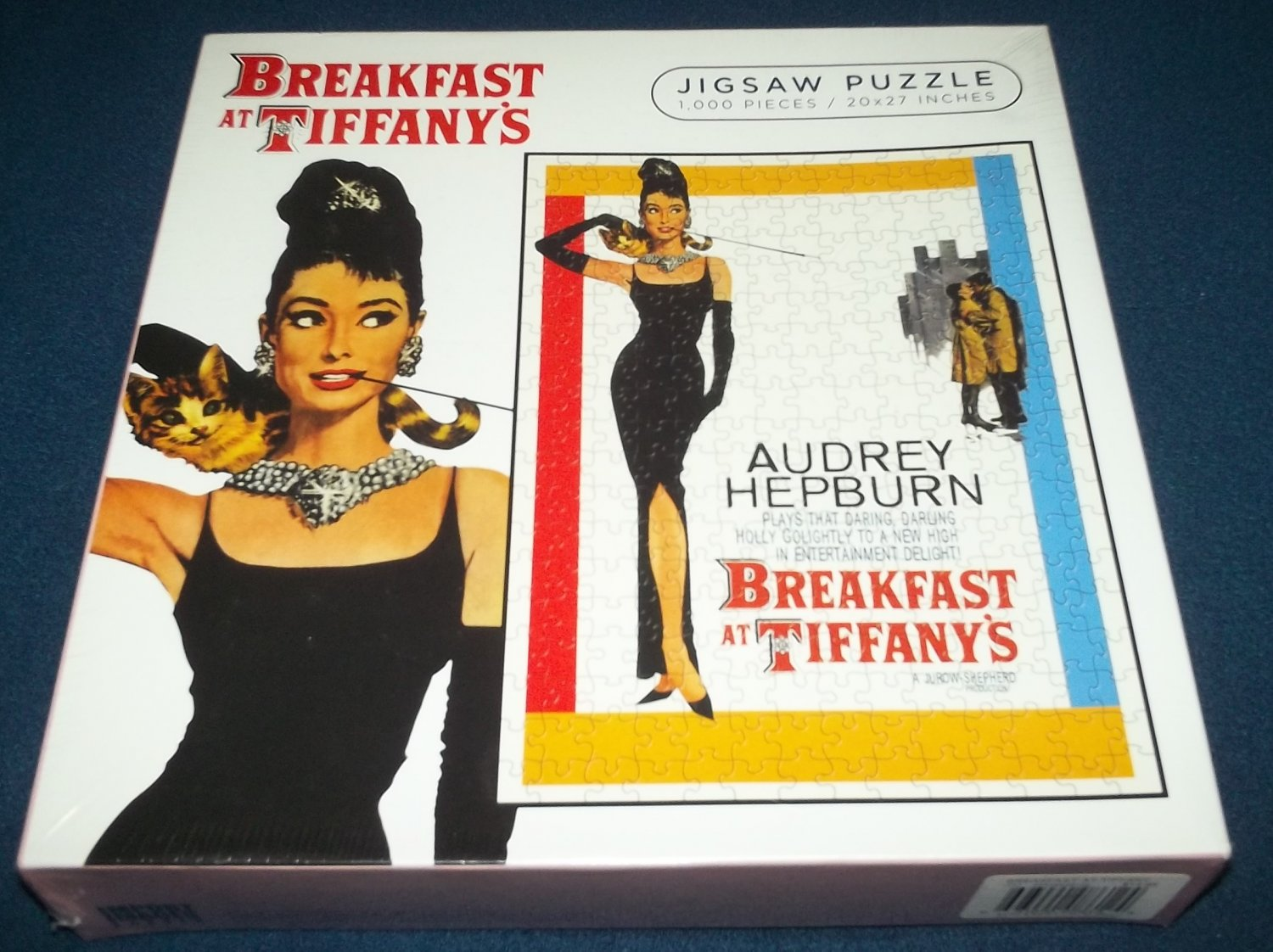 BREAKFAST AT TIFFANY'S Jigsaw Puzzle 1000 Pcs MINT Unopened AUDREY HEPBURN