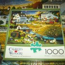Buffalo Games 1000 PC JIGSAW PUZZLE Charles Wysocki HOUND OF THE BASKERVILLES COMPLETE