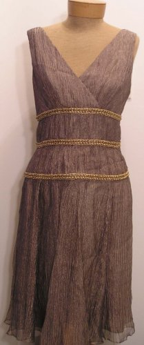 NEW $188 TALBOTS Womens Cocktail Evening Beaded Dress 8 Misses  NWT Women