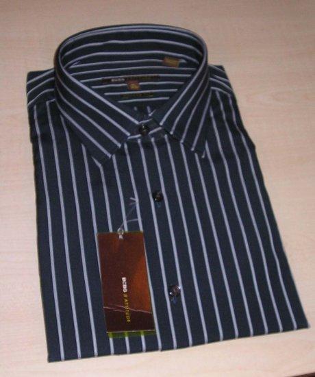 NEW BCBG Modern Fit Mens Dress Shirt XL 17.5 34 35 NWT