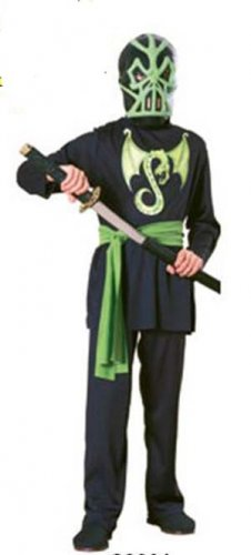 NEW Ninja Halloween Costume L 12 14 Child Boys Large
