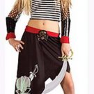 NEW Ship Wrecked Halloween Costume Tween S Young Adult