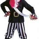 NEW Pirate Boy Halloween Costume M 8 10 Child Medium