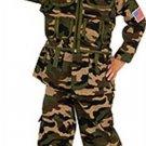 NEW Camo Commando Halloween Costume Toddler 2 4 Child