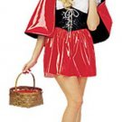 NEW Little Red Riding Hood Halloween Costume Womens S