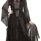 NEW Midnight Vampira Halloween Costume Adult Standard