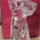 NEW MIKASA CELEBRATION Angel w/ Harp Lead Crystal NIB