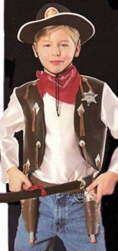 NEW Cowboys Playset Halloween Costume S Child Boys NIP