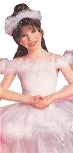 NEW White Feather Fantasy Girl Halloween Costume S Kids