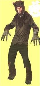 NEW THE WOLF MAN Halloween Costume Adult Monsters NIP