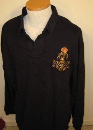 NEW POLO RALPH LAUREN Mens Shirt L Large Black NWT