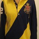 NEW RALPH LAUREN POLO Womens Shirt Top L NWT Large $125