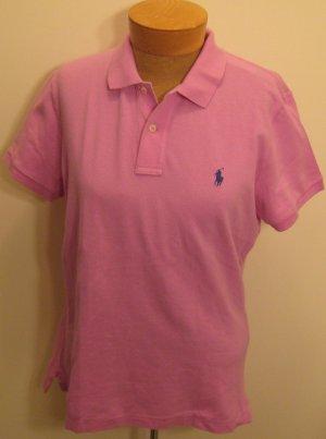 NEW RALPH LAUREN Womens Skinny Polo Shirt Top M NWT