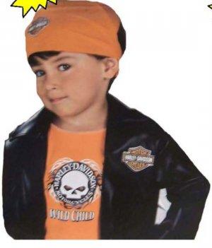 Halloween Costumes Biker | Harley Davidson Biker Playset Halloween Costume Kids S
