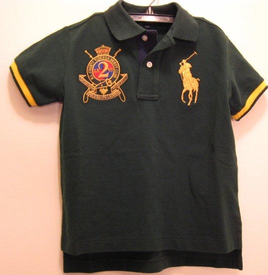 NEW POLO RALPH LAUREN Baby Boys Shirt Top Big Pony 12M NWT