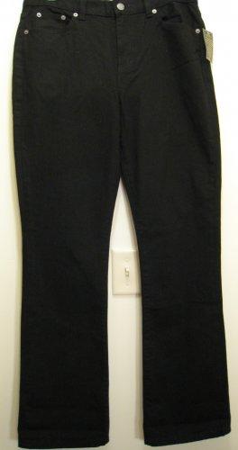 NEW RALPH LAUREN POLO Womens Jeans Pants 6 NWT Black