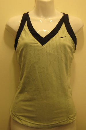 NEW NIKE Dry Fit Womens Tennis Shirt Top XS 0 2 NWT