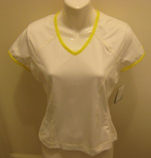 NEW NIKE Fit Sphere Dry Women Golf Shirt Top XS 0 2 NWT