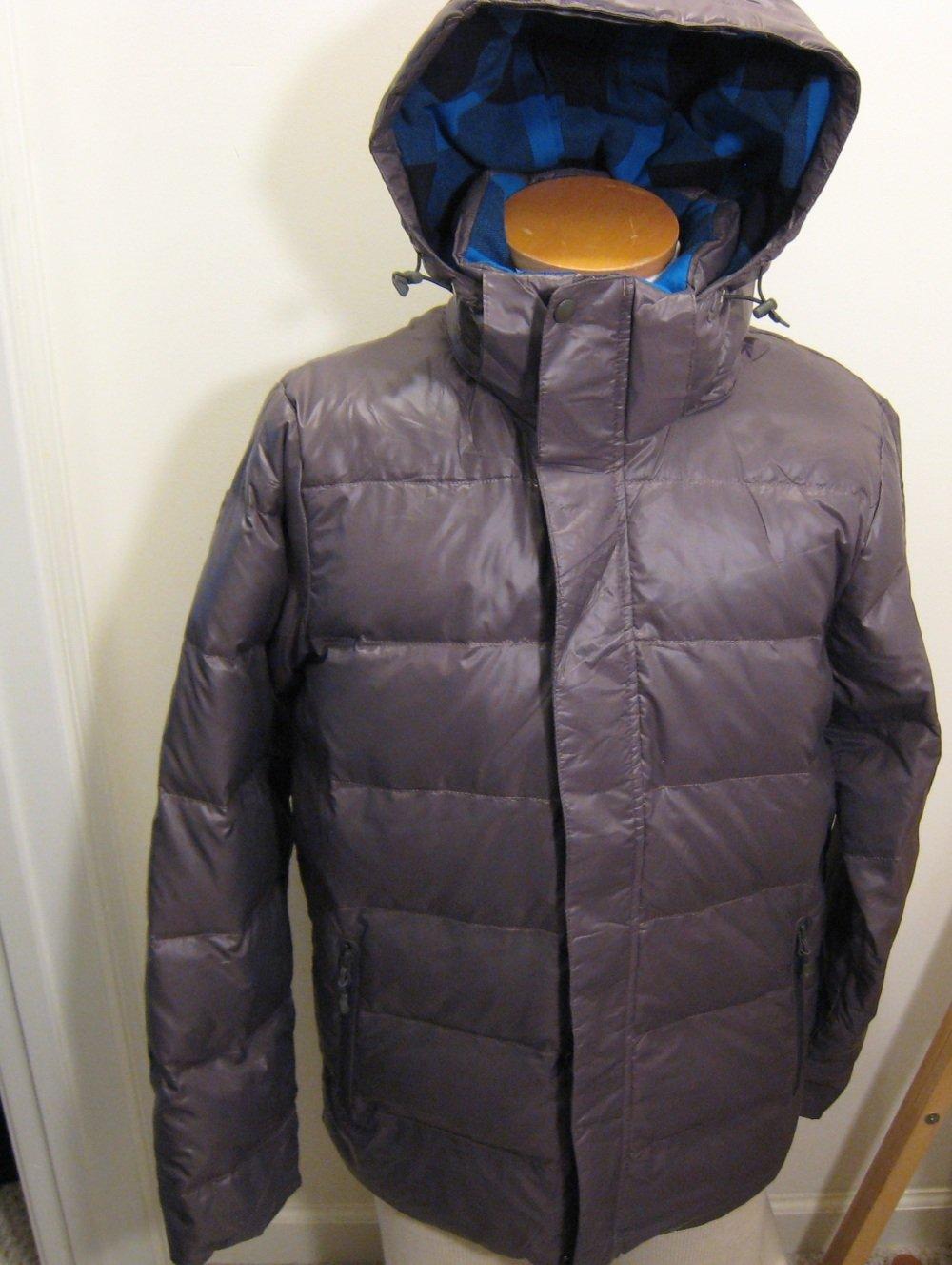 NEW NIKE Mens 550 Goose Down Hooded Hoodie Jacket Coat M NWT