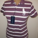 NEW RALPH LAUREN The Skinny Polo Big Pony Womens Shirt Top M MediumNWT