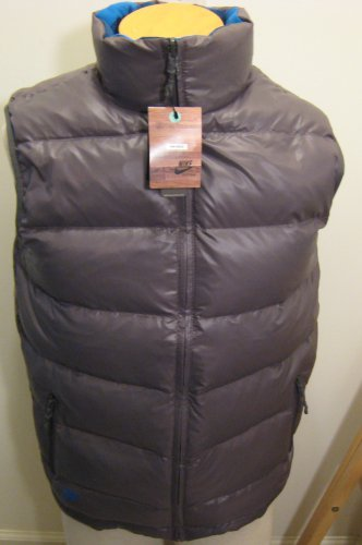 NEW NIKE ACG Mens Reversible 550 Goose Down Vest S Small NWT