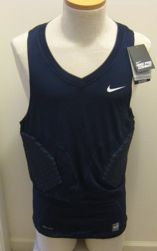 NIKE Pro Combat Hyperstrong Compression Mens Basketball Shirt 2XL 503317 451