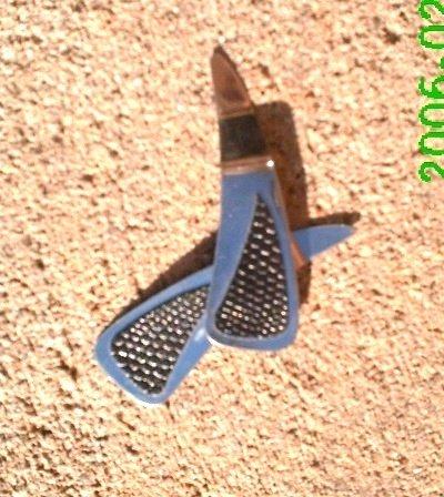 Black faux snakeskin stamped leather dangle earrings *Zaro 2 design
