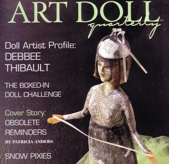 ART DOLL QUATERLY MAGAZINE ~ WINTER 2005 ISSUE 4 ~ dolls ~ VOL 2, Click for more photos