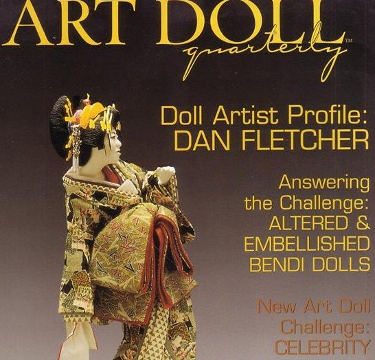 ART DOLL QUATERLY MAGAZINE ~ dolls ~  SUMMER 2005 ISSUE 2~ VOL 3, click for more photos