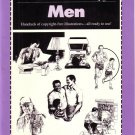 MEN ILLUSTRATIONS ~ CLIP ART ~ DRAWING REFERENCE BOOK