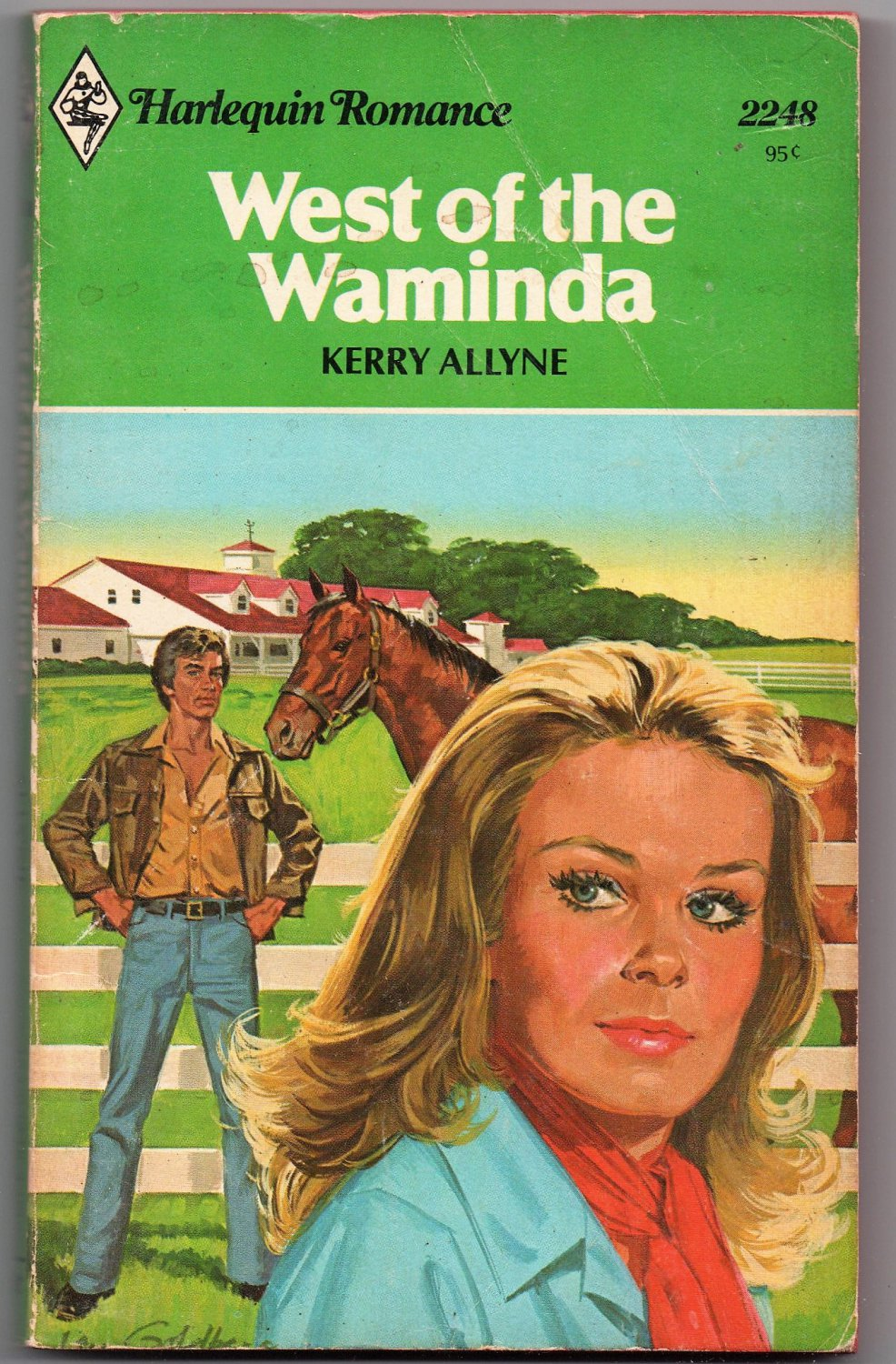 West of the Waminda by Kerry Allyne 1979 Harlequin Romance 2248 0373022484
